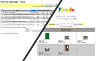 Picselo: Admin / Picture Search